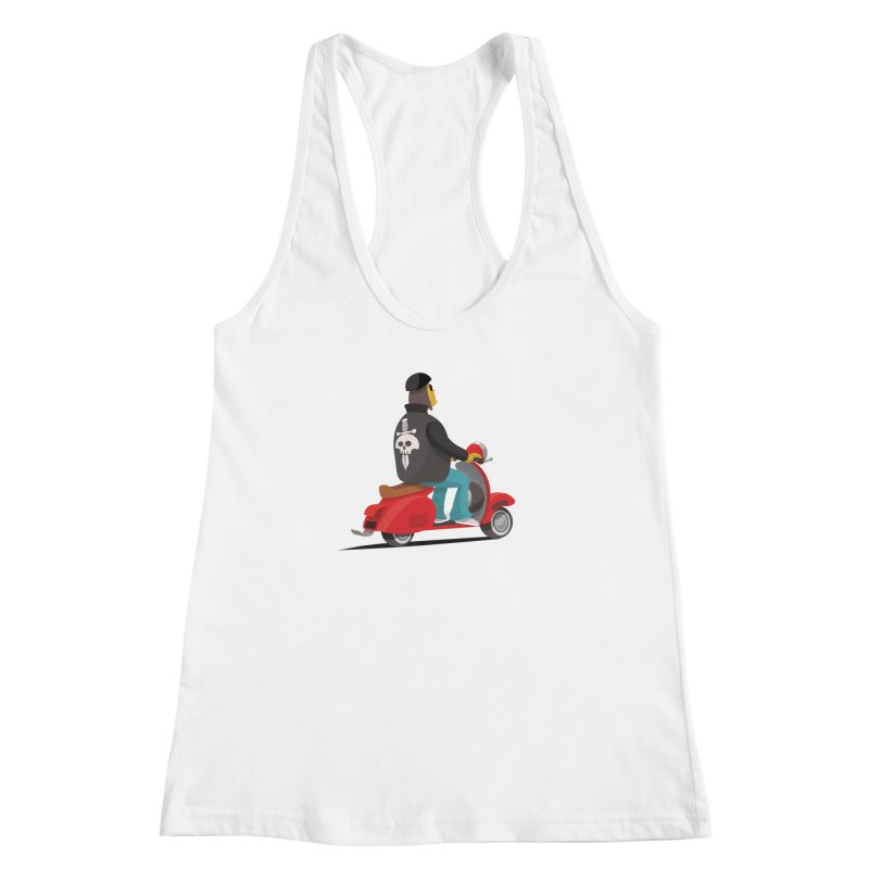 Low Rider/ tees and sweaters Women's Racerback Tank by CDFBstuff