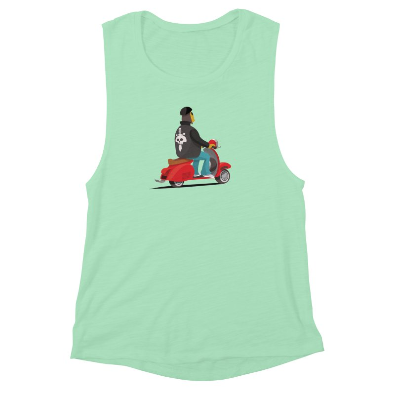 Low Rider/ tees and sweaters Women's Muscle Tank by CDFBstuff