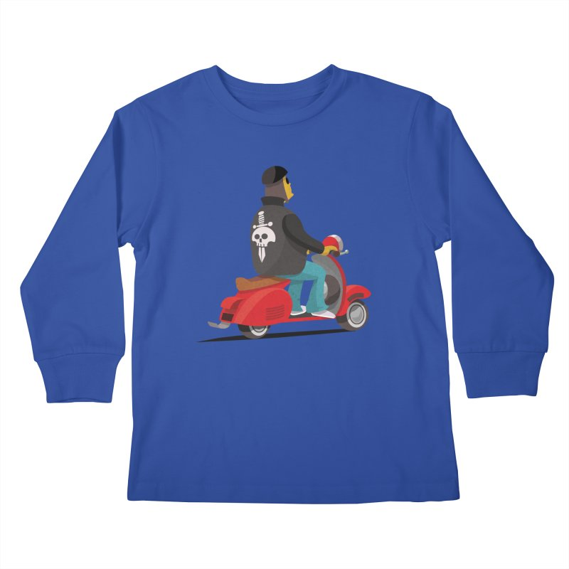 Low Rider/ tees and sweaters Kids Longsleeve T-Shirt by CDFBstuff