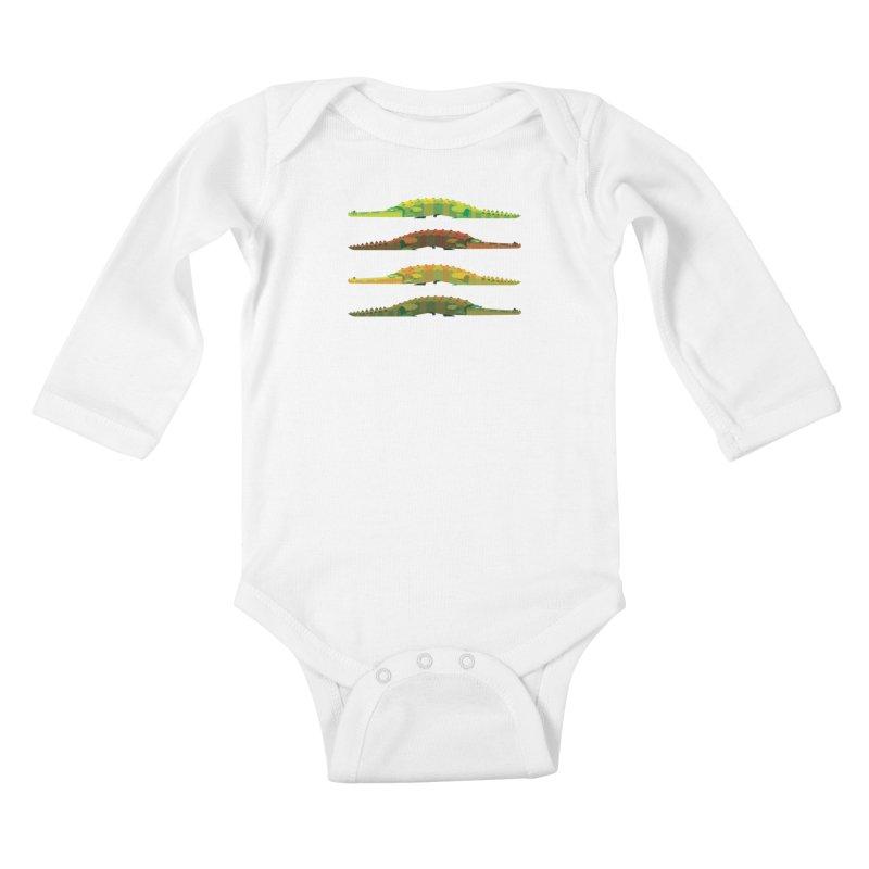 Crocs Strolling/ tees and sweaters Kids Baby Longsleeve Bodysuit by CDFBstuff