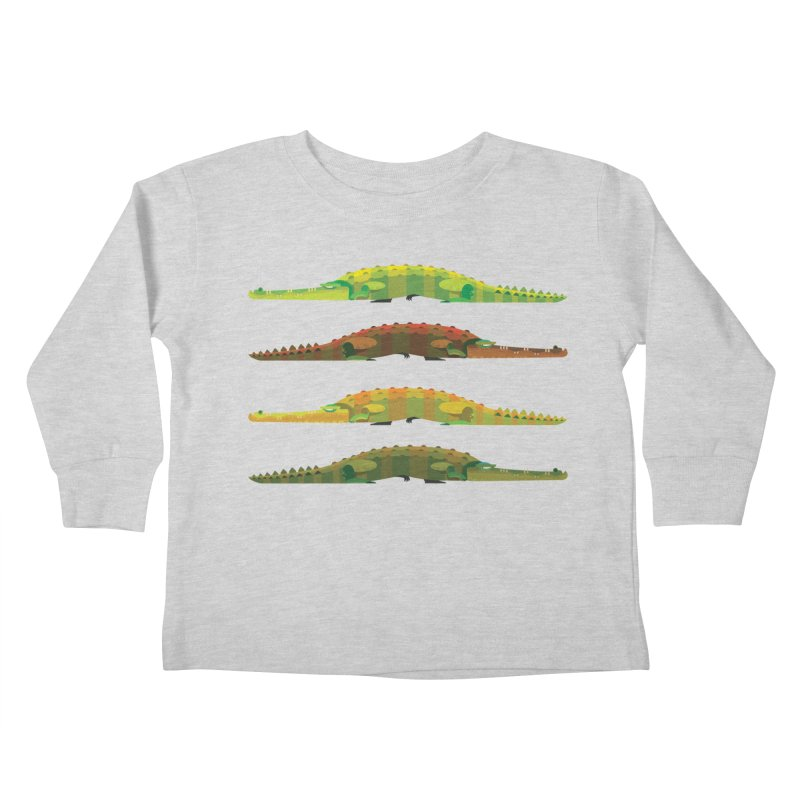 Crocs Strolling/ tees and sweaters Kids Toddler Longsleeve T-Shirt by CDFBstuff
