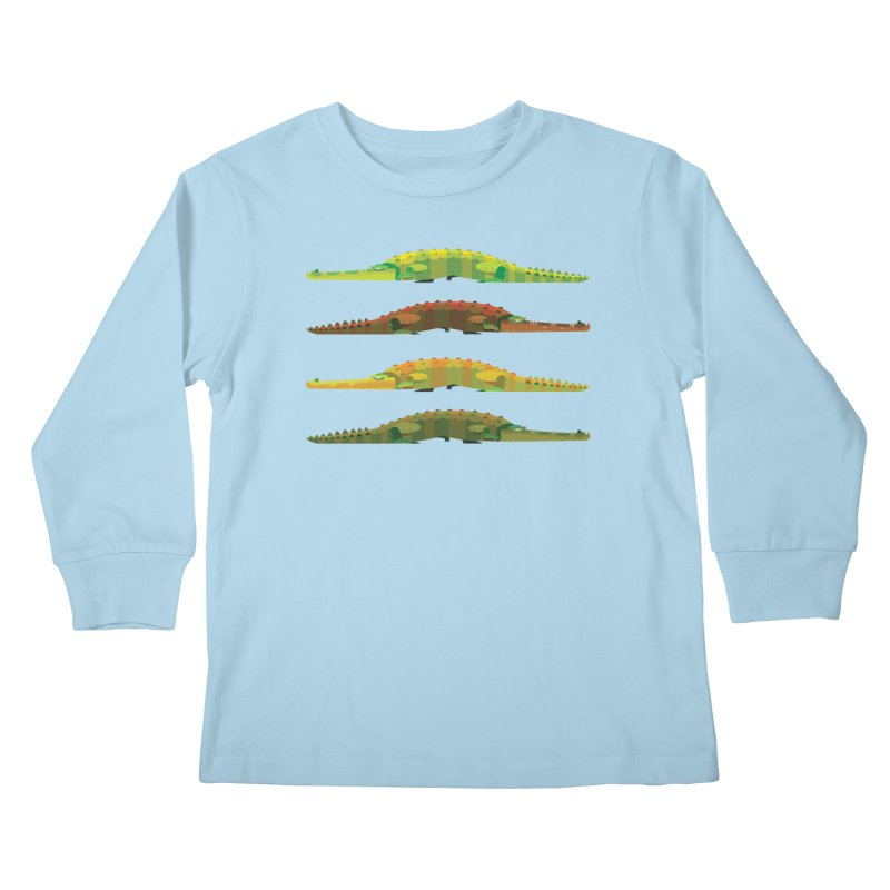 Crocs Strolling/ tees and sweaters Kids Longsleeve T-Shirt by CDFBstuff