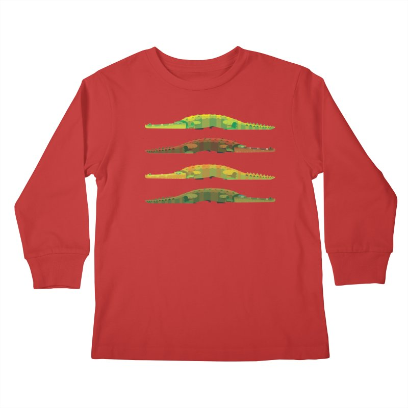 Crocs Strolling/ tees and sweaters Kids Longsleeve T-Shirt by CDFBstuff