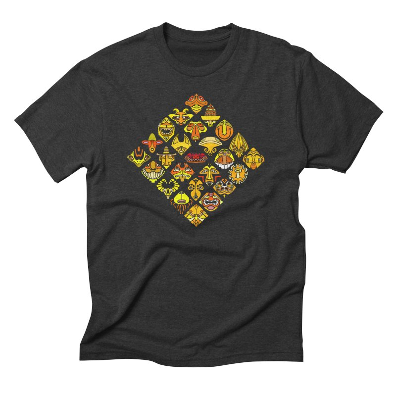 Headshrinkers/ tees and sweaters Men's Triblend T-Shirt by CDFBstuff