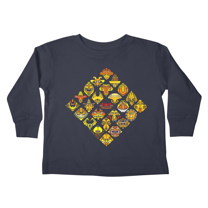 Headshrinkers/ tees and sweaters Kids Toddler Longsleeve T-Shirt by CDFBstuff