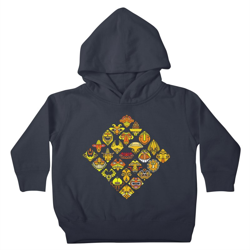 Headshrinkers/ tees and sweaters Kids Toddler Pullover Hoody by CDFBstuff