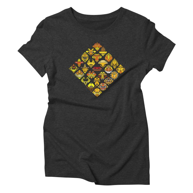 Headshrinkers/ tees and sweaters Women's Triblend T-Shirt by CDFBstuff