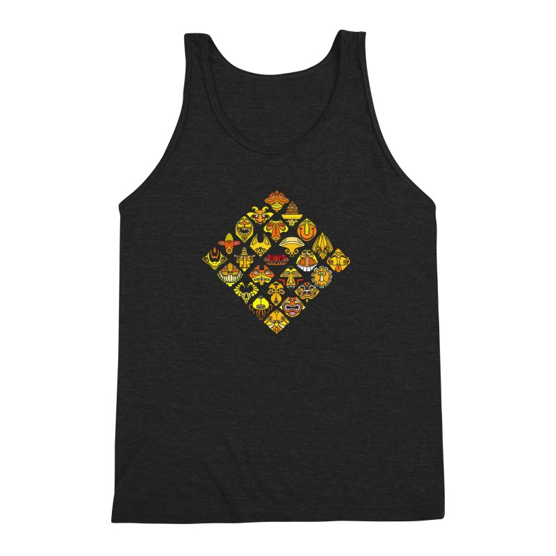 Headshrinkers/ tees and sweaters Men's Triblend Tank by CDFBstuff