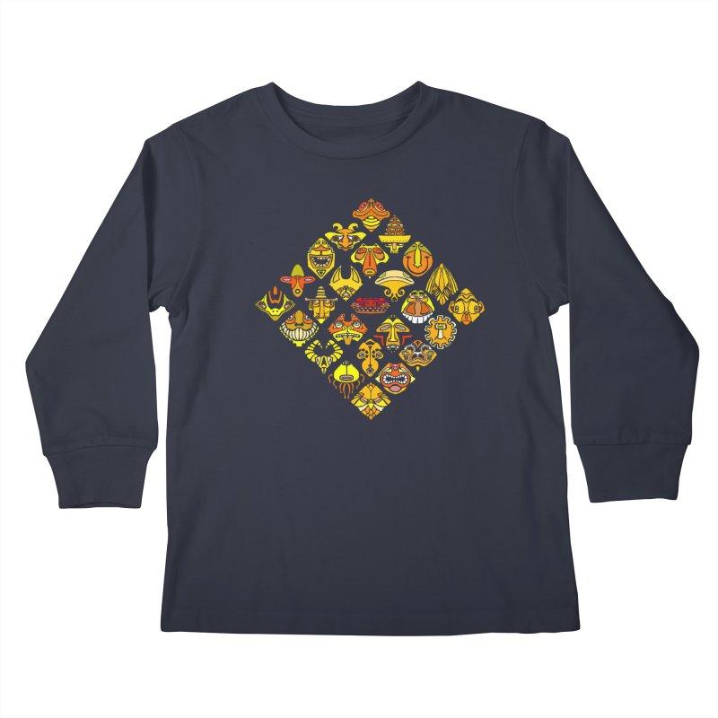 Headshrinkers/ tees and sweaters Kids Longsleeve T-Shirt by CDFBstuff