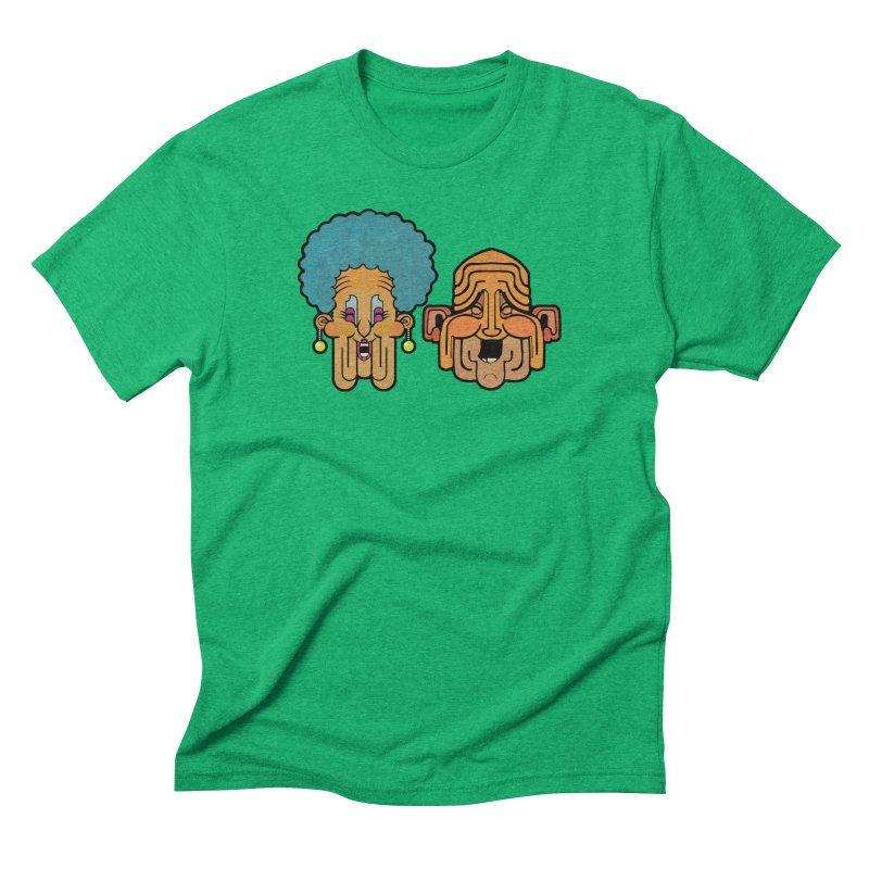 Old Folk/ tees and sweaters Men's Triblend T-Shirt by CDFBstuff