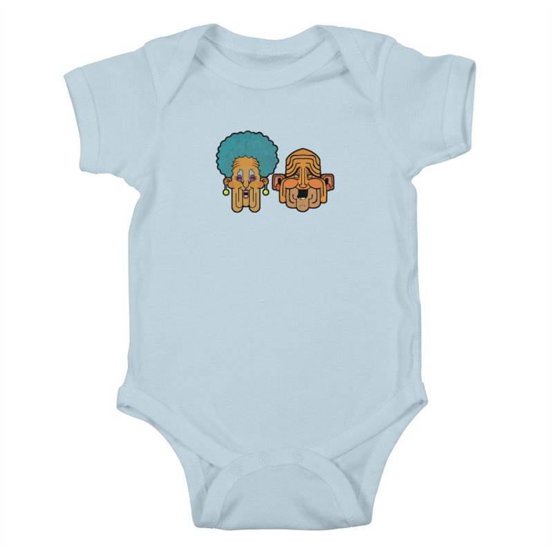 Old Folk/ tees and sweaters Kids Baby Bodysuit by CDFBstuff
