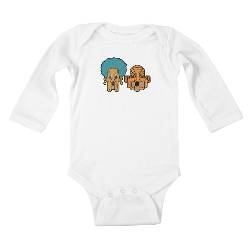 Old Folk/ tees and sweaters Kids Baby Longsleeve Bodysuit by CDFBstuff
