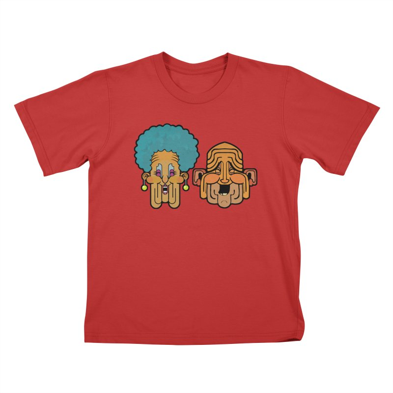 Old Folk/ tees and sweaters Kids T-Shirt by CDFBstuff