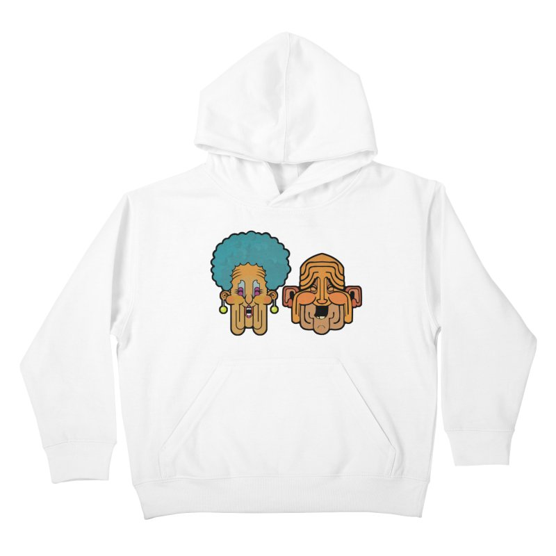 Old Folk/ tees and sweaters Kids Pullover Hoody by CDFBstuff