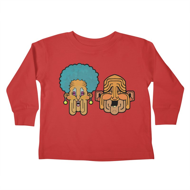 Old Folk/ tees and sweaters Kids Toddler Longsleeve T-Shirt by CDFBstuff
