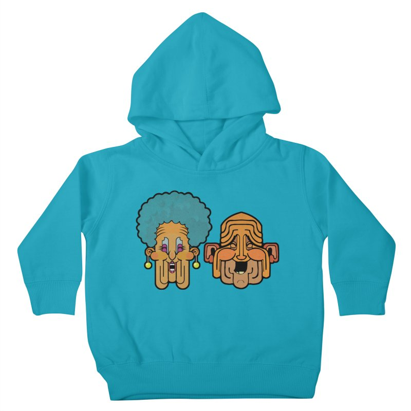 Old Folk/ tees and sweaters Kids Toddler Pullover Hoody by CDFBstuff