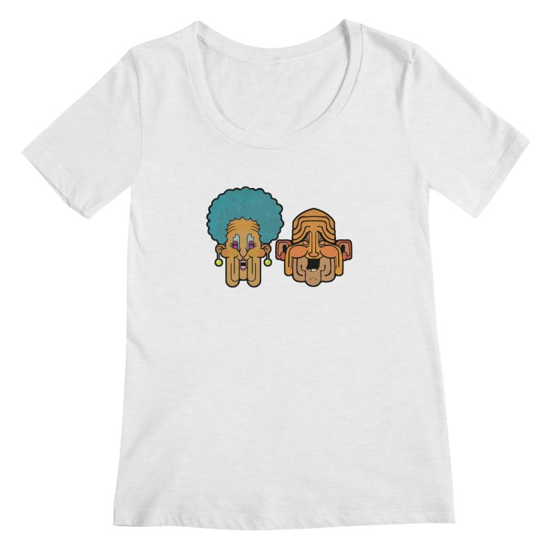Old Folk/ tees and sweaters Women's Regular Scoop Neck by CDFBstuff