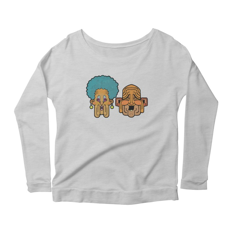 Old Folk/ tees and sweaters Women's Scoop Neck Longsleeve T-Shirt by CDFBstuff
