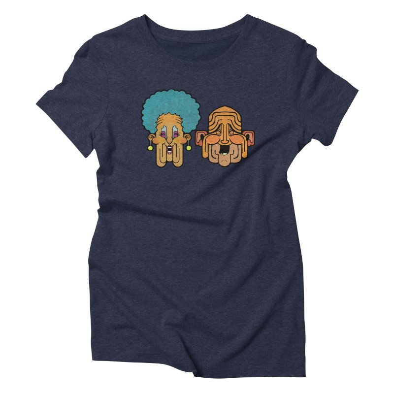 Old Folk/ tees and sweaters Women's Triblend T-Shirt by CDFBstuff