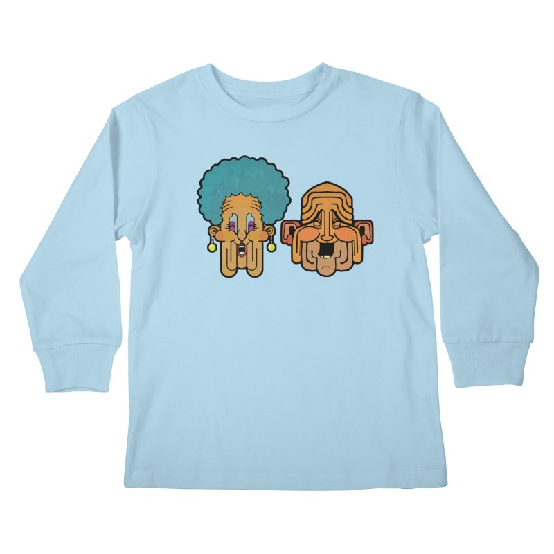 Old Folk/ tees and sweaters Kids Longsleeve T-Shirt by CDFBstuff