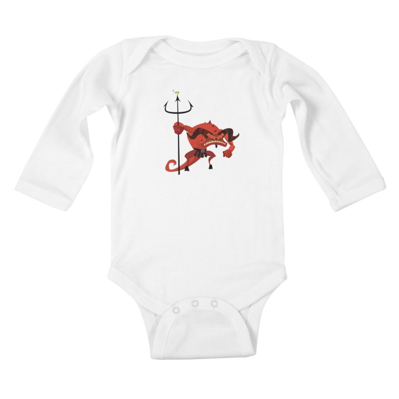 Bad Day/ tees and sweaters (light colours) Kids Baby Longsleeve Bodysuit by CDFBstuff