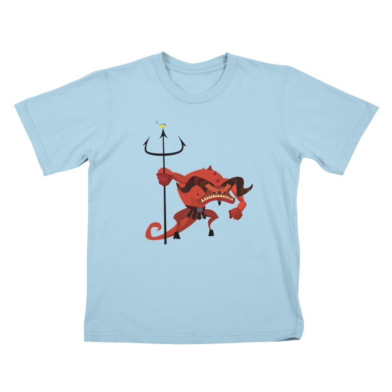 Bad Day/ tees and sweaters (light colours) Kids T-Shirt by CDFBstuff
