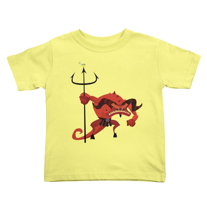 Bad Day/ tees and sweaters (light colours) in Kids Toddler T-Shirt Lemon by CDFBstuff