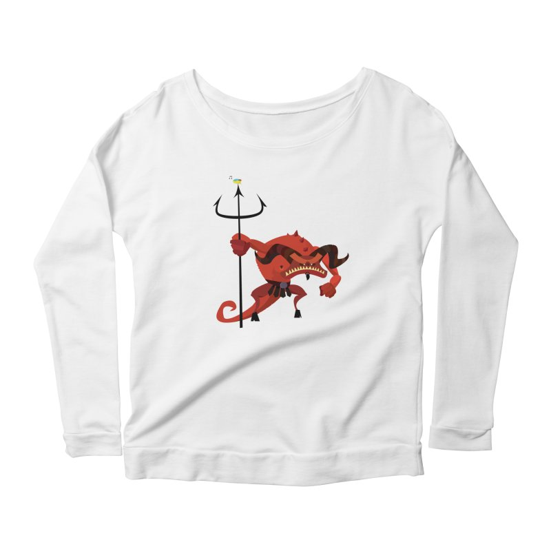 Bad Day/ tees and sweaters (light colours) Women's Scoop Neck Longsleeve T-Shirt by CDFBstuff