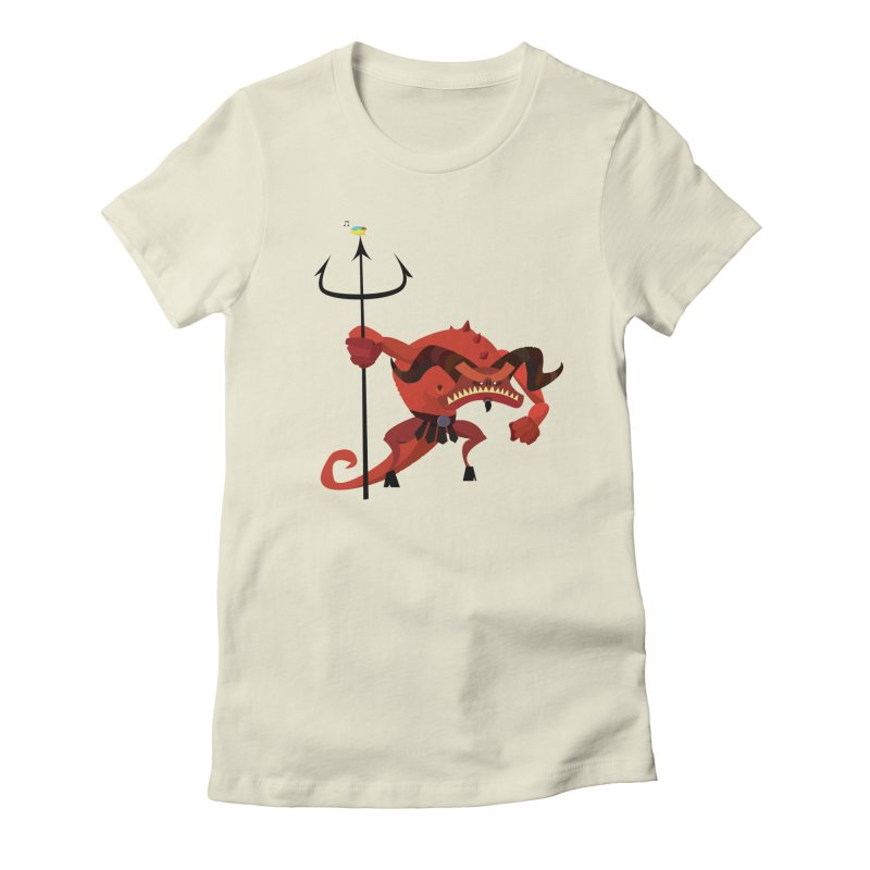 Bad Day/ tees and sweaters (light colours) Women's Fitted T-Shirt by CDFBstuff