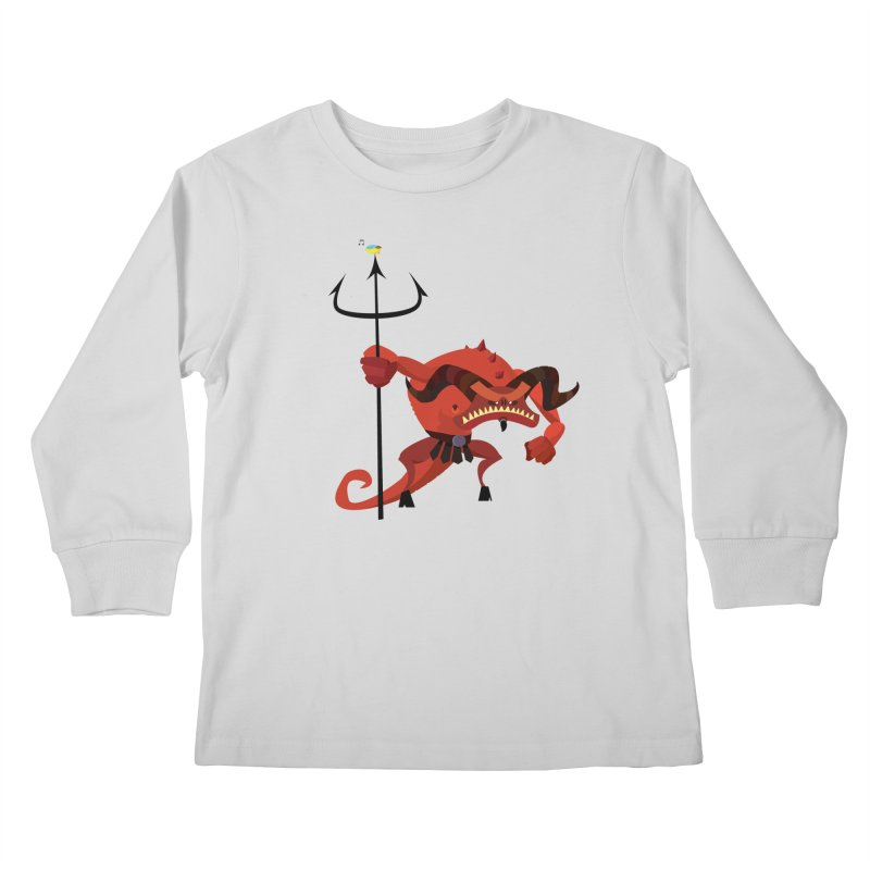 Bad Day/ tees and sweaters (light colours) Kids Longsleeve T-Shirt by CDFBstuff