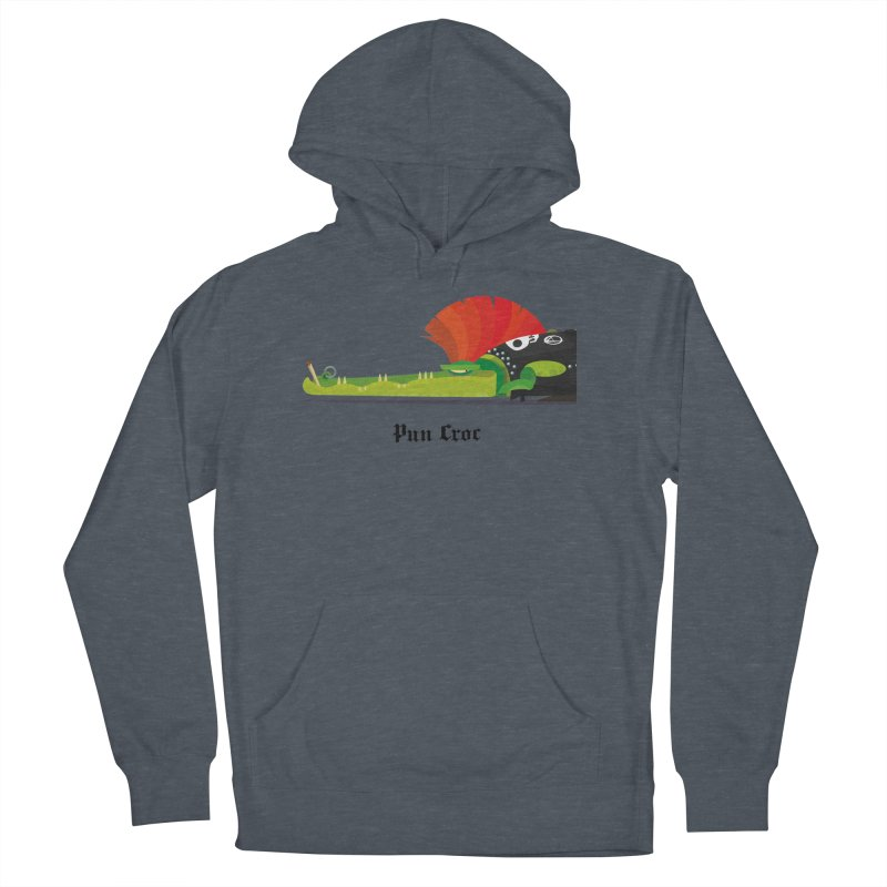 Pun Croc/ tees and sweaters (light colours) Women's French Terry Pullover Hoody by CDFBstuff