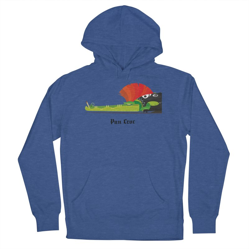 Pun Croc/ tees and sweaters (light colours) Men's French Terry Pullover Hoody by CDFBstuff