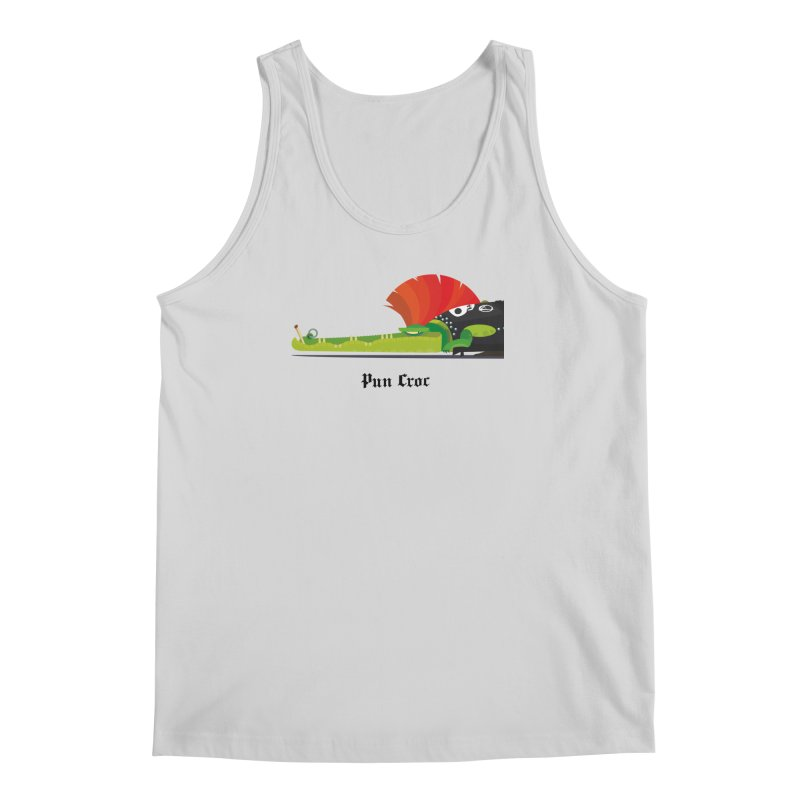 Pun Croc/ tees and sweaters (light colours) Men's Regular Tank by CDFBstuff