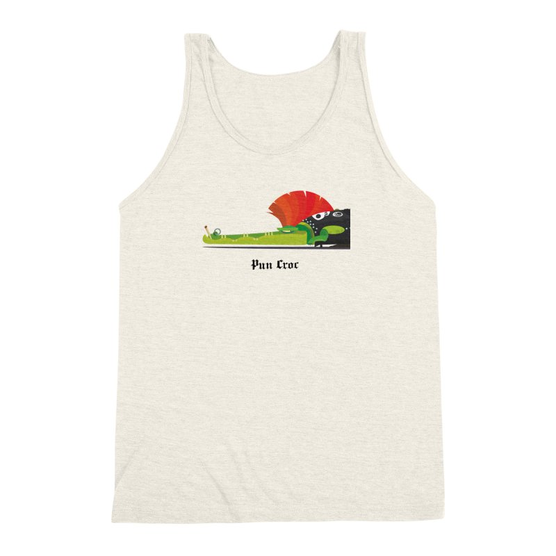 Pun Croc/ tees and sweaters (light colours) Men's Triblend Tank by CDFBstuff