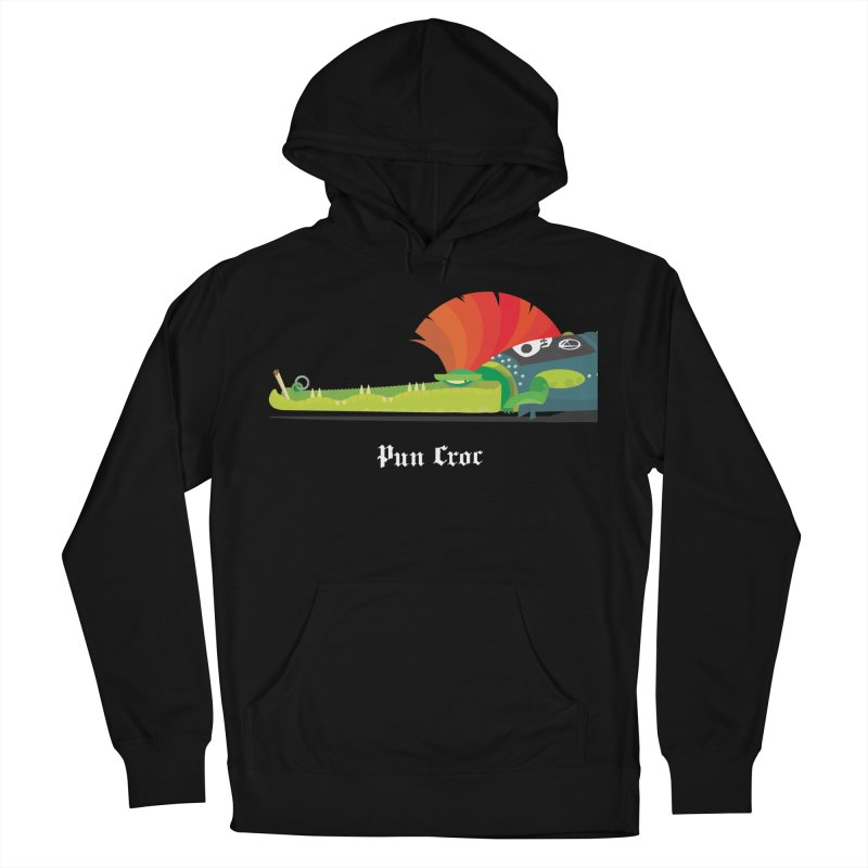 Pun Croc/ tees and sweaters (dark colours) Women's French Terry Pullover Hoody by CDFBstuff
