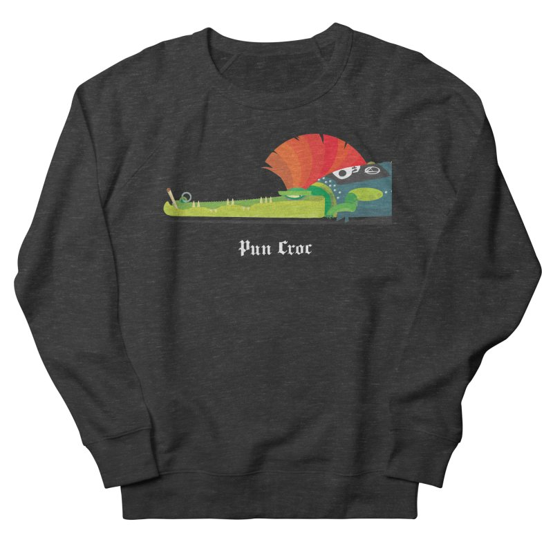 Pun Croc/ tees and sweaters (dark colours) Men's French Terry Sweatshirt by CDFBstuff