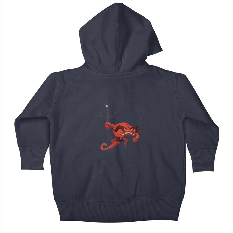 Bad Day/ zip up hoody (dark colours) Kids Baby Zip-Up Hoody by CDFBstuff