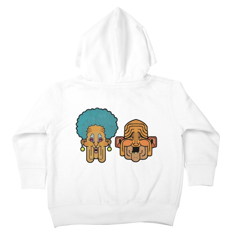 Old Folk/ zip-up hoody Kids Toddler Zip-Up Hoody by CDFBstuff