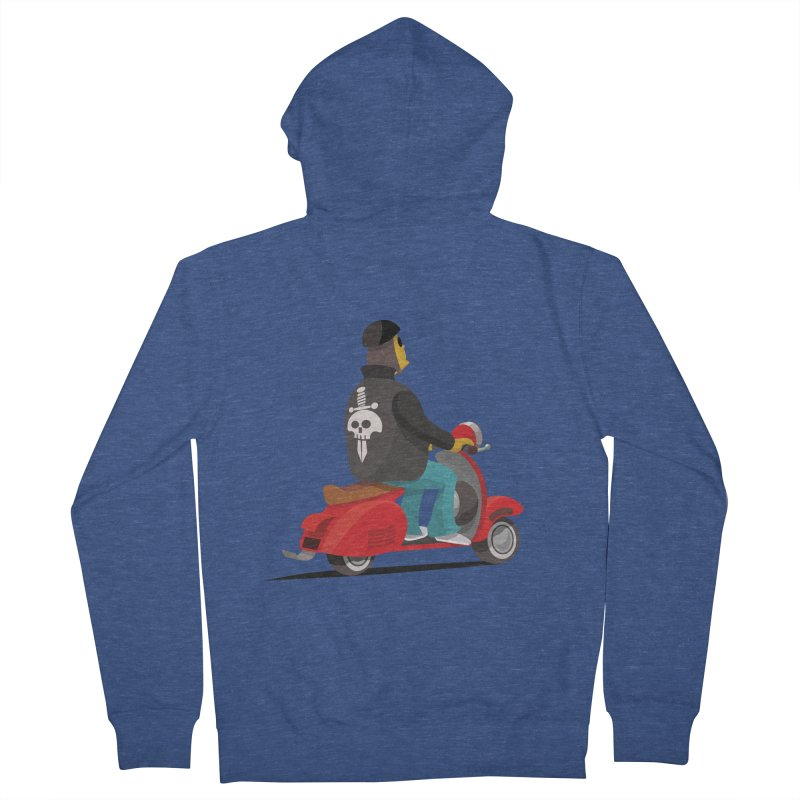 Low Rider/ zip up hoody Women's French Terry Zip-Up Hoody by CDFBstuff