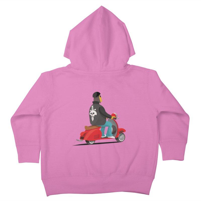 Low Rider/ zip up hoody Kids Toddler Zip-Up Hoody by CDFBstuff