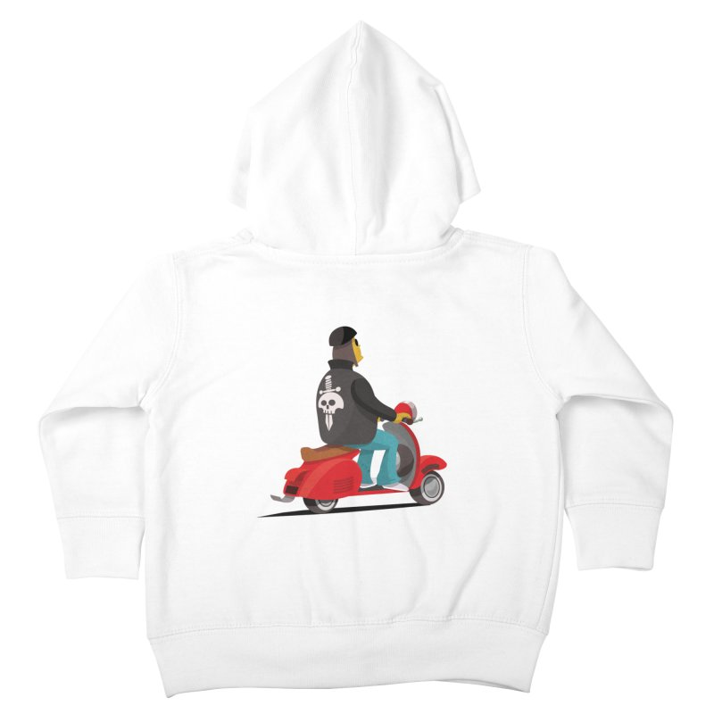 Low Rider/ zip up hoody Kids Toddler Zip-Up Hoody by CDFBstuff