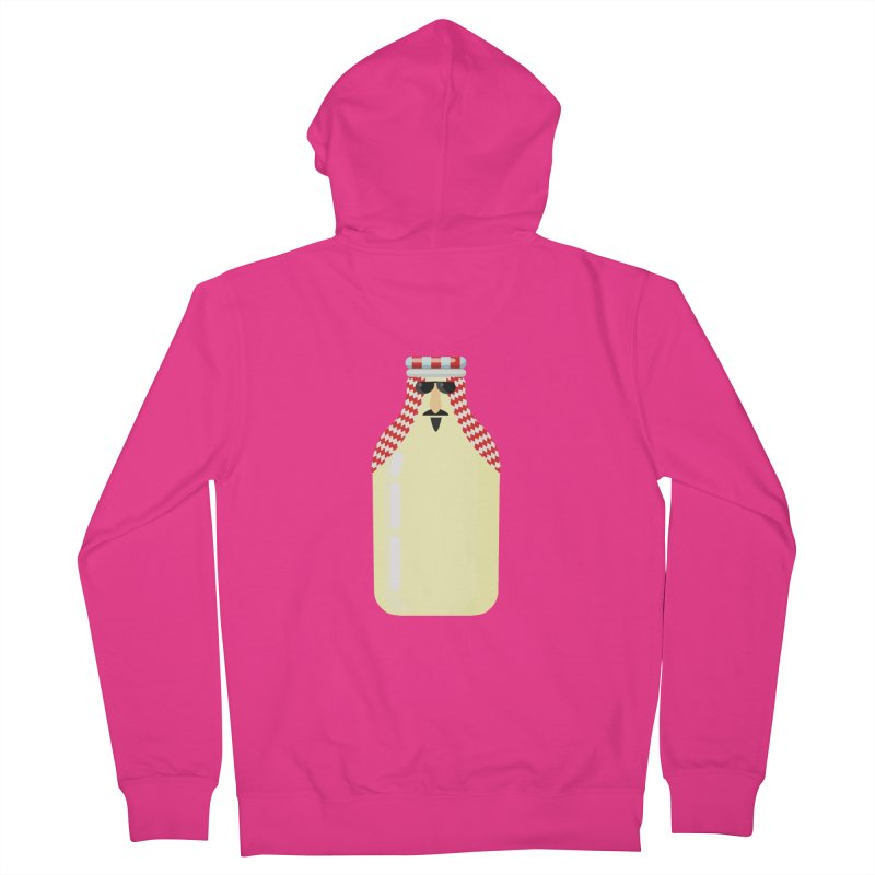 Milk Sheikh Men's French Terry Zip-Up Hoody by CDFBstuff