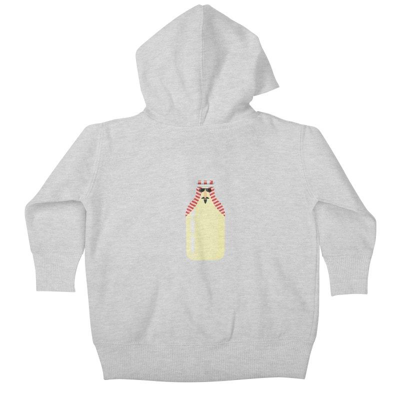 Milk Sheikh Kids Baby Zip-Up Hoody by CDFBstuff