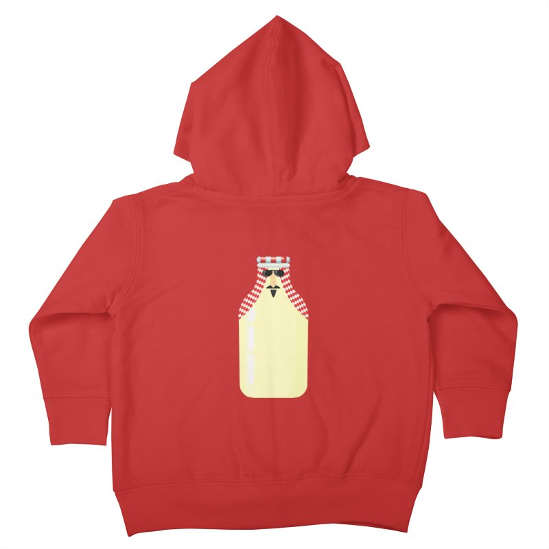 Milk Sheikh Kids Toddler Zip-Up Hoody by CDFBstuff