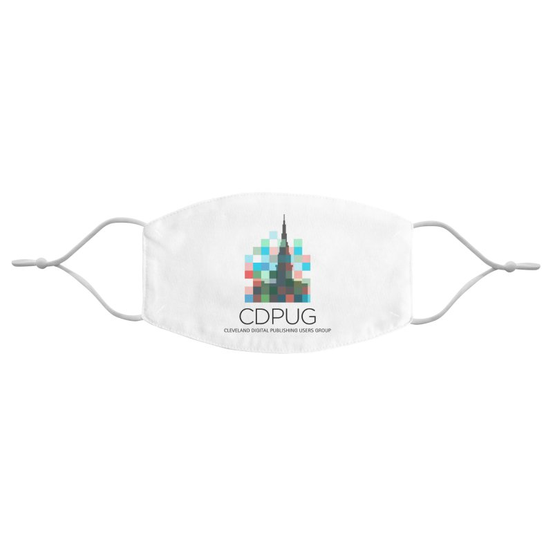 Dark Letters Logo Accessories Face Mask by CDPUG's Artist Shop