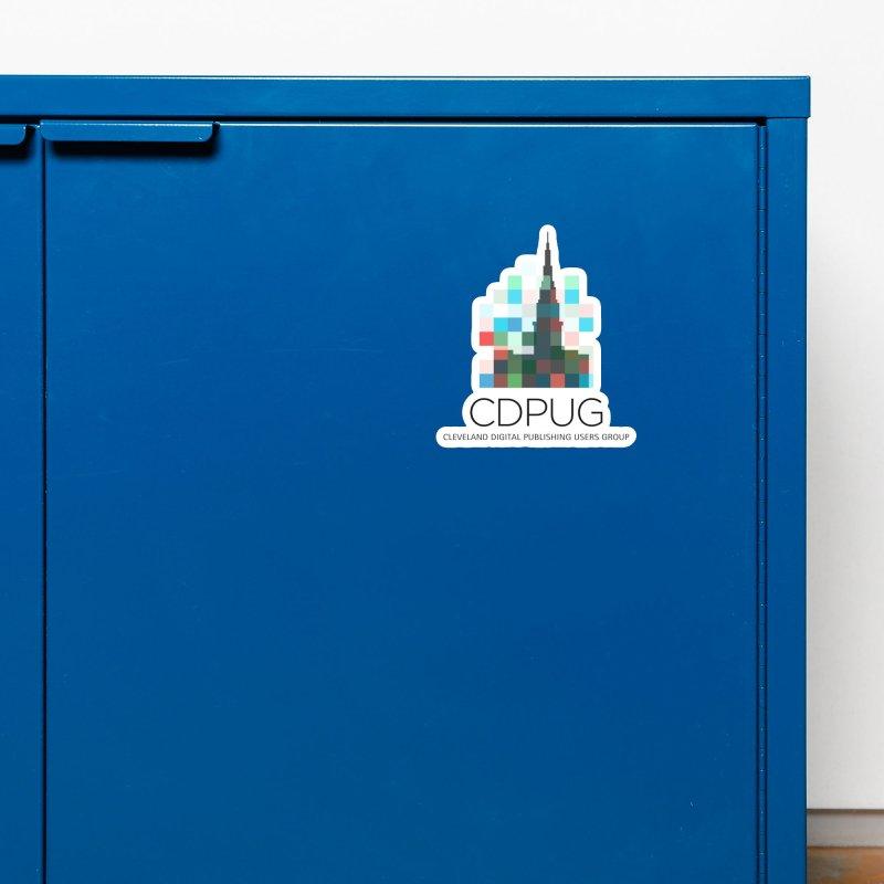 Dark Letters Logo Accessories Magnet by CDPUG's Artist Shop