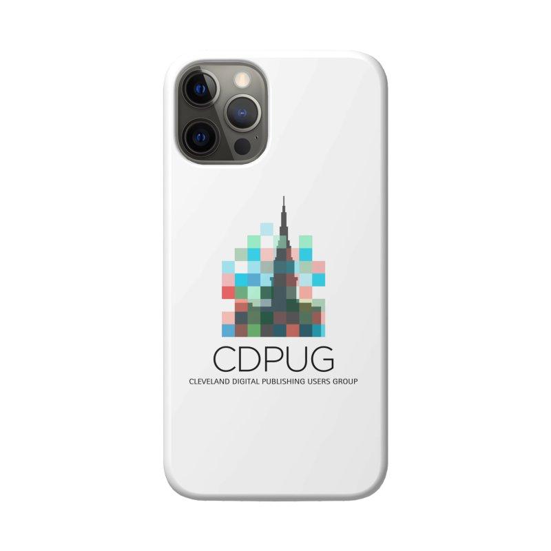Dark Letters Logo Accessories Phone Case by CDPUG's Artist Shop