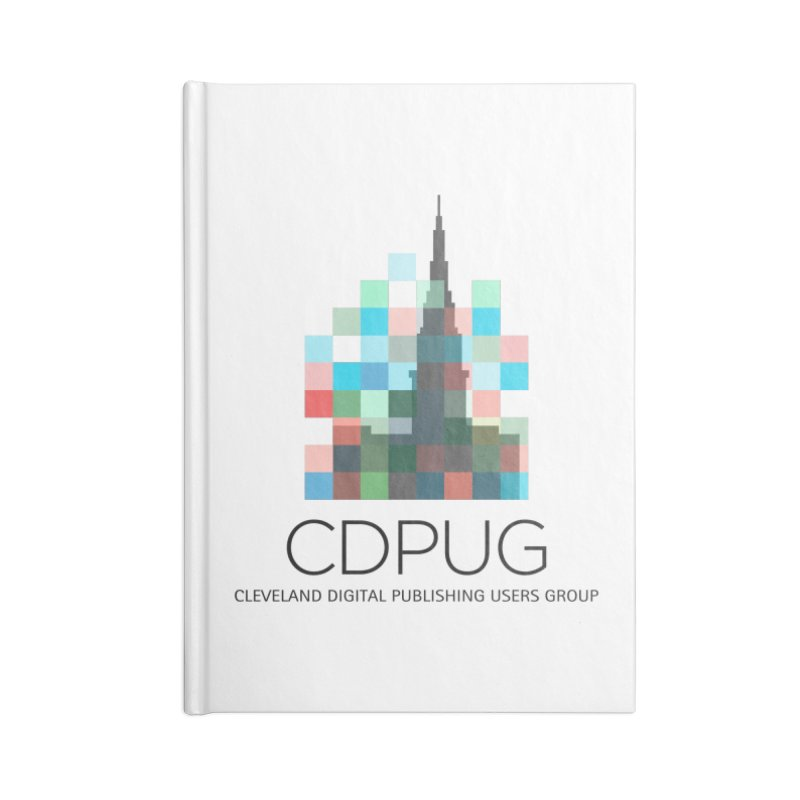 Dark Letters Logo Accessories Notebook by CDPUG's Artist Shop