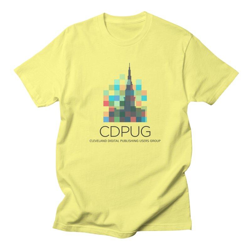 Dark Letters Logo Men's T-Shirt by CDPUG's Artist Shop