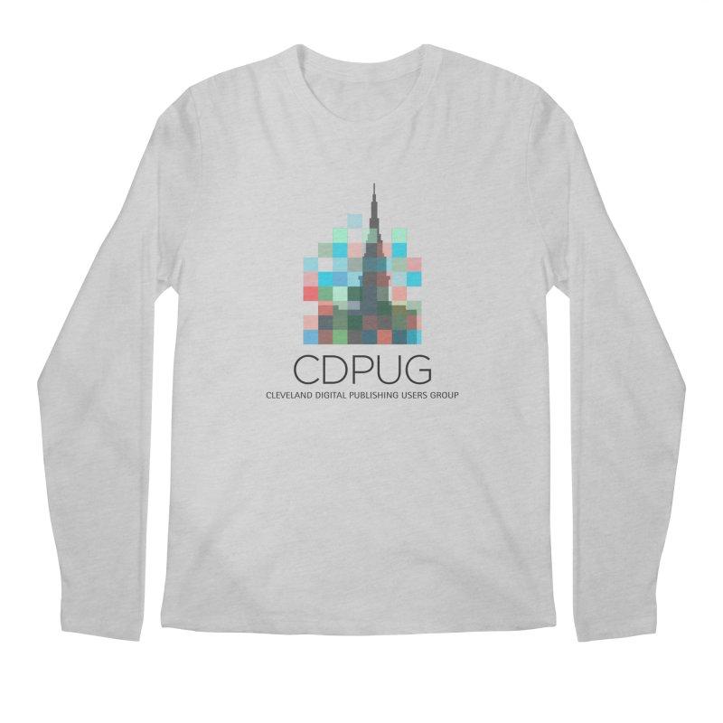 Dark Letters Logo Men's Regular Longsleeve T-Shirt by CDPUG's Artist Shop